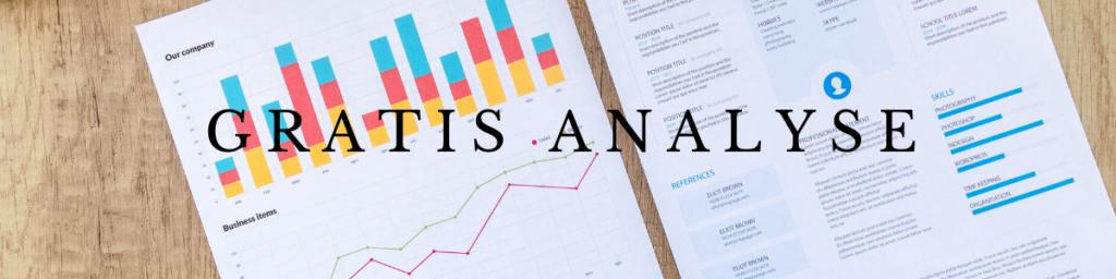 Gratis analyse af din markedsføring